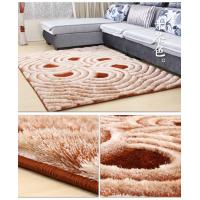 China SHIMAX 5D Modern Polyester Handmade Shaggy Carpet for Living Room New Design wholesale