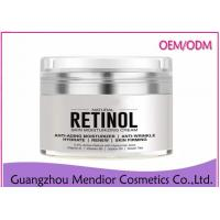 China Retinol Organic Anti Aging Face Cream , White Fine Lines Beeswax Face Cream wholesale