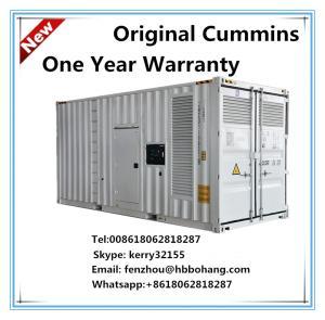 Cummins 12 cylinders container diesel generator set
