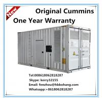 Quality Cummins 12 cylinders container diesel generator set for sale