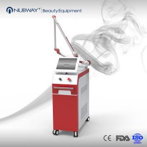 China Medical CE Approval nd yag laser tattoo removal 1064nm & 532nm Q switch Nd Yag Laser Tattoo Removal Machine wholesale