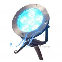 China LED underwater light, IP68 swimming pool light, fountain LED lamp, park light on sale