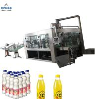China Carbonated Beverage Can Filling Machine / Aluminum Can Filling Machine wholesale