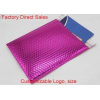 China Strong Adhesive Metallic Bubble Mailers 4*6 Aluminum Film 50 Mic Thickness wholesale