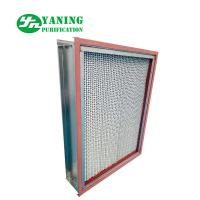 Buy cheap Glass Fiber Media HEPA Air Filter Oven Equipment SS304 High Temperature from wholesalers