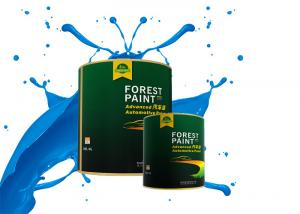 China Forest Paint 2K Solid Paint For Spray Gun Easily Infiltrate Purple Orange Red wholesale