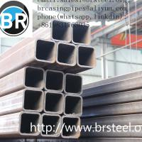 China hollow section tube,Rectangular&square hollow section tube,anti-rust oil, black painting,erw black steel pipe,precision wholesale