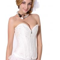China Sexy Front Zipper bustier wholesale