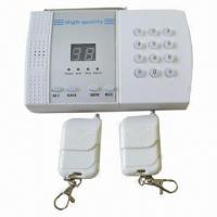 China Wireless Auto-dial Home Security/Mobile Call GSM Alarm System, Wall Mounted Alarm  wholesale