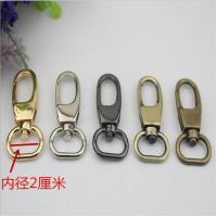 China Simple design all kinds of color zinc alloy 20 mm metal swivel snap hooks for handbag leather wholesale
