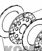 China Friction Brake plate Paper Based Komatsu DISC CA0132690 for Heavy equipment on sale