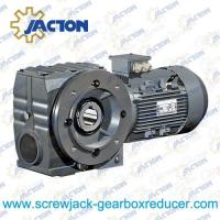 China 1/4HP 0.18KW S Series Helical-worm Gearmotor, Helical-worm Gear Reducer Specifications wholesale
