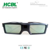China Light Weight TV 3D Active Shutter Glasses For Sign Acceptable By Bluetooth wholesale