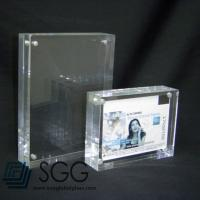 China 10mm+10mm ultra clear picture frame glass with magnets wholesale