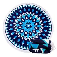China Colourful Round Beach Towel Beach Blanket Microfiber Towels Yoga Mat wholesale