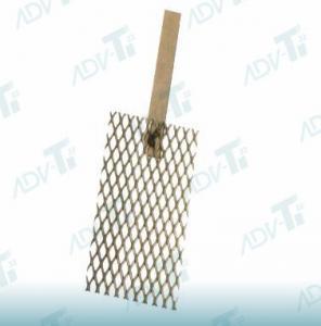 China Titanium Anode For  Water Lonizer Titanium Substrate Platinum Coating wholesale