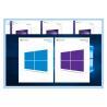 China Windows 10 Pro Microsoft Windows Software USB 3.0 32/64 Bit Full Version Retail Sealed wholesale