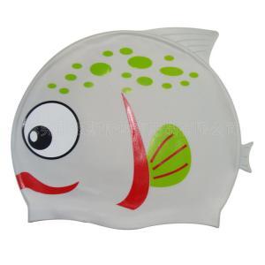 China OEM Service Fashionable swim hat & Cute children cartoon swimming cap wholesale