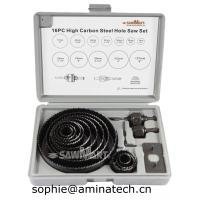 China 16-Piece Hole Saw Set with Case wholesale