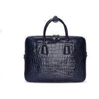 China Dongguan factory wholesale genuine crocodile leather business briefcase man handbag on sale