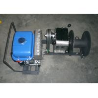 JJM1Q 1 Ton Lifting Cable Winch Puller / Gas Powered Winch 15m / min