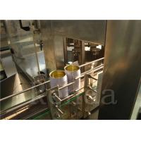 China Drink Liquid Can Filling Machine For Soda Water / Coca Cola / Juice/Gas Drinks wholesale