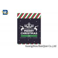 China Pretty 3D Lenticular Christmas Cards , Custom Lenticular Business Cards on sale