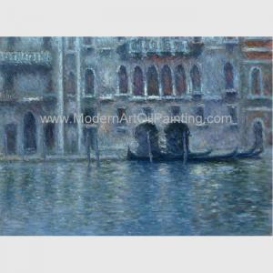 Buy cheap Canvas Claude Monet Oil Paintings Reproduction Palazzo Da Mula At Venice Wall from wholesalers