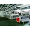 China Finishing Heat Setting Stenter Machine Gas Direct Heating 3 - 12m / Min wholesale