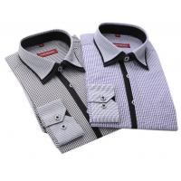 China New arrival Long sleeve shirts men shirts cotton polyester wash business professional men wholesale
