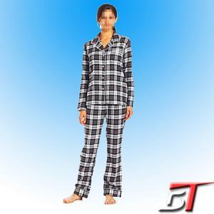China cotton flannel pajama set on sale