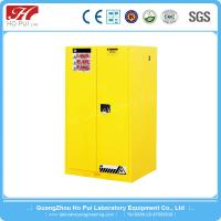 China Yellow Steel Flammable Explosion Proof Cabinet Vertical For Laboratory wholesale