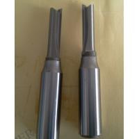 China TC0111 CNC Router Bit Straight Flute Solid Carbide Straignt Bit With Steel Shank wholesale