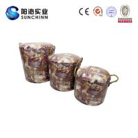 China PU Leature Printing Wooden Furniture/Stool/Round Stool/Chair/Home Accents wholesale