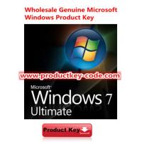 China ESD Windows 7 Product Key Codes Genuine Win 7 Ultimate OEM Key Code wholesale