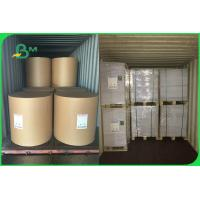 China White Color Woodfree Uncoated Offset Printing Bond Paper In Roll For Notebook wholesale