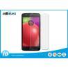 China Motorola E4 Anti Glare Tempered Glass , 9H Hardness Phone Screen Guard OEM wholesale