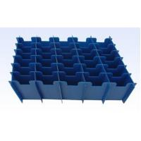 China Portable Corrugated Plastic Divider Sheet / Partition For Packaging Industry Components wholesale