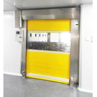 China Fast Speed Scrolled Doors Air Shower Tunnel For  Material  ,  Air Blow Passage wholesale