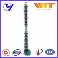 China Line Type Transformer Surge Arreste For Power Transmission , Grey Silicone Housing wholesale