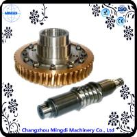 China Differential Stainless Copper Worm Helical Gear Transmission For Micro Tractor wholesale