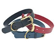 China Waterproof Strong TPU Leather Dog Collar wholesale