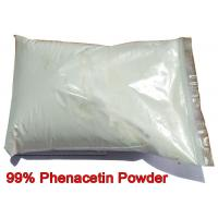 China Phenacetin Powder Pharmaceutical Intermediate CAS 62-44-2 Acetophenetidin For Pain Relieving wholesale
