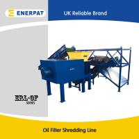 China Engine oil filter shredder machine/oil filter recyling machine for sale with CE wholesale