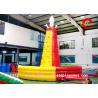 China Huge Inflatable Climbing Wall , Mountain Inflatable Rock Climbing Wall wholesale