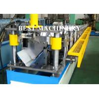 China Roof Tile Crest Ridge Cap Roll Forming Machine CE / SGS Certificated wholesale