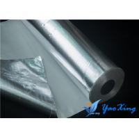 China 0.4mm Fireproof Aluminum Foil Fiberglass Cloth High Tensile Property wholesale