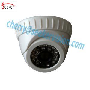 China AHD 720P 1.0 Megapixel CMOS IR 25M Dome Type AHD Camera with Fixed Lens 24pcs IR LEDs wholesale
