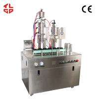 Pneumatic Drive Oxygen Gas Spray Can Filling Machine With PLC Control System Manufactures