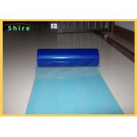 China Printable Plastic Floor Protection Film For Hard Surface Protection PE Adhesive wholesale